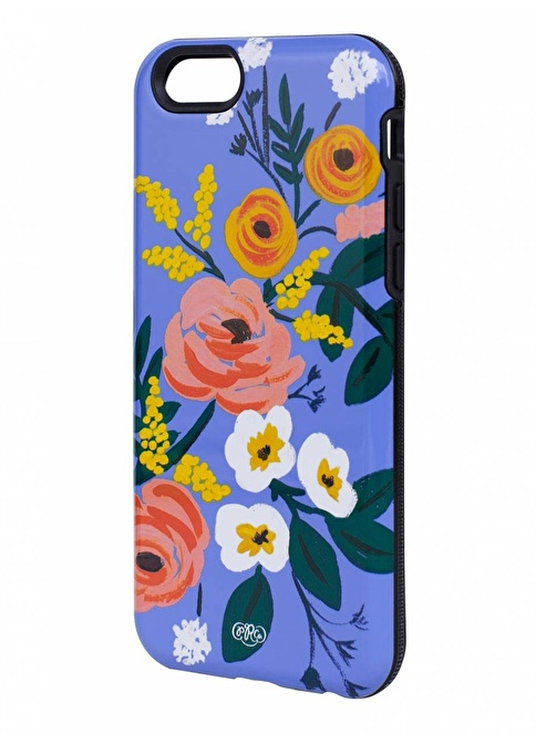 Rifle Paper Co. Violet Floral iPhone 6 Kılıf Renkli